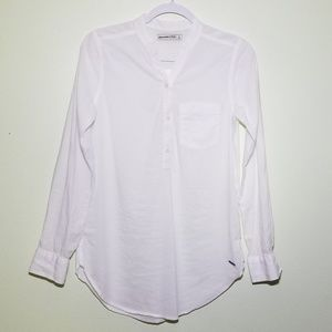 Abercrombie & Fitch | White Long Sleeve Shirt